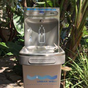 Urban Well Filtered Drinking Fountain - Better Than Bottled