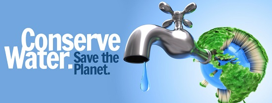 Conserve Water picture - Urban Well Water Conservation blog
